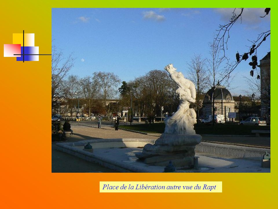 Place de la Libération autre vue du Rapt