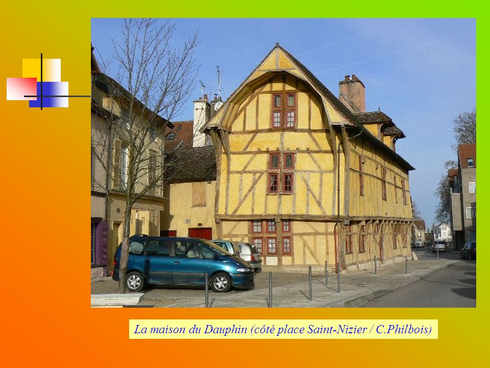 La maison du Dauphin (côté place Saint-Nizier / C.Philbois)
