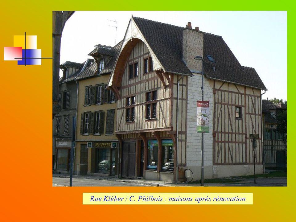 Rue Kléber / C. Philbois : maisons après rénovation