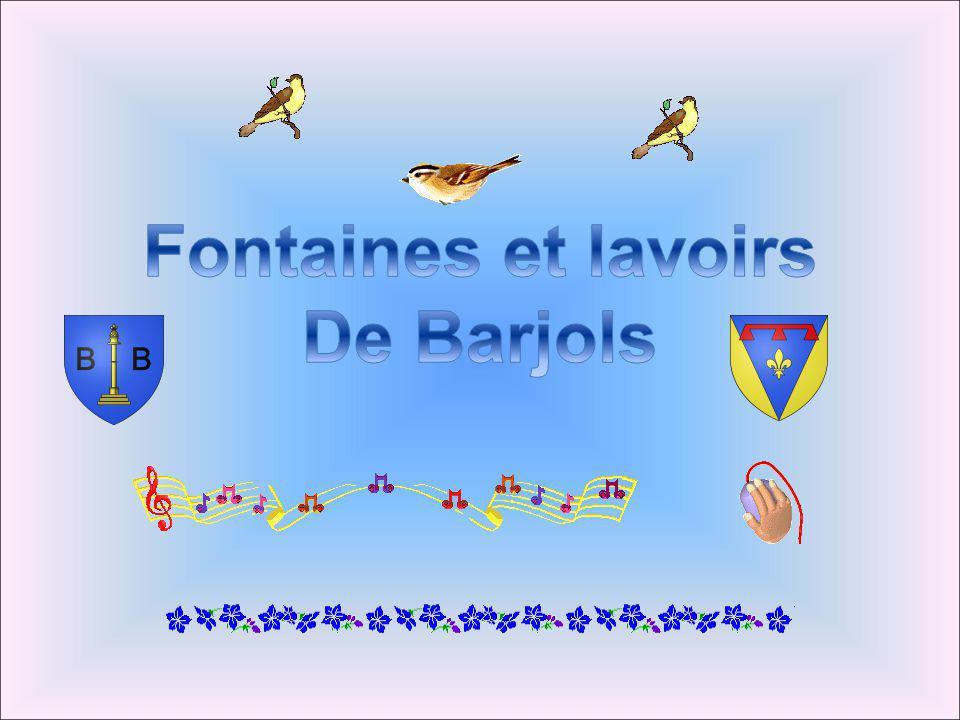Fontaines et lavoirs De Barjols