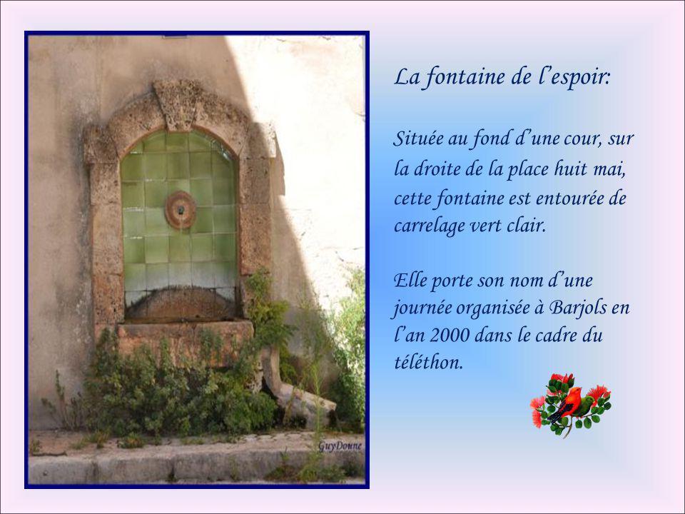 La fontaine de l'espoir: