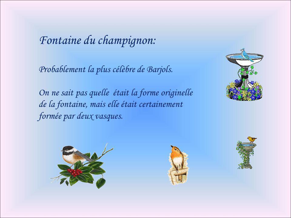 Fontaine du champignon: