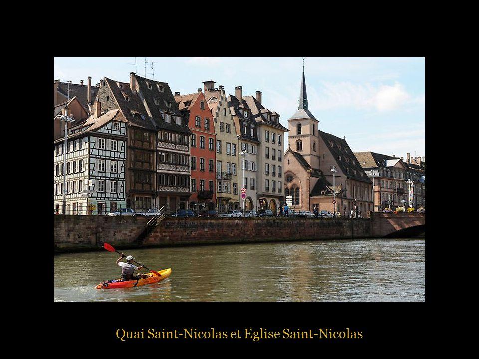 Quai Saint-Nicolas et Eglise Saint-Nicolas