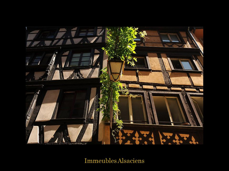 Immeubles Alsaciens