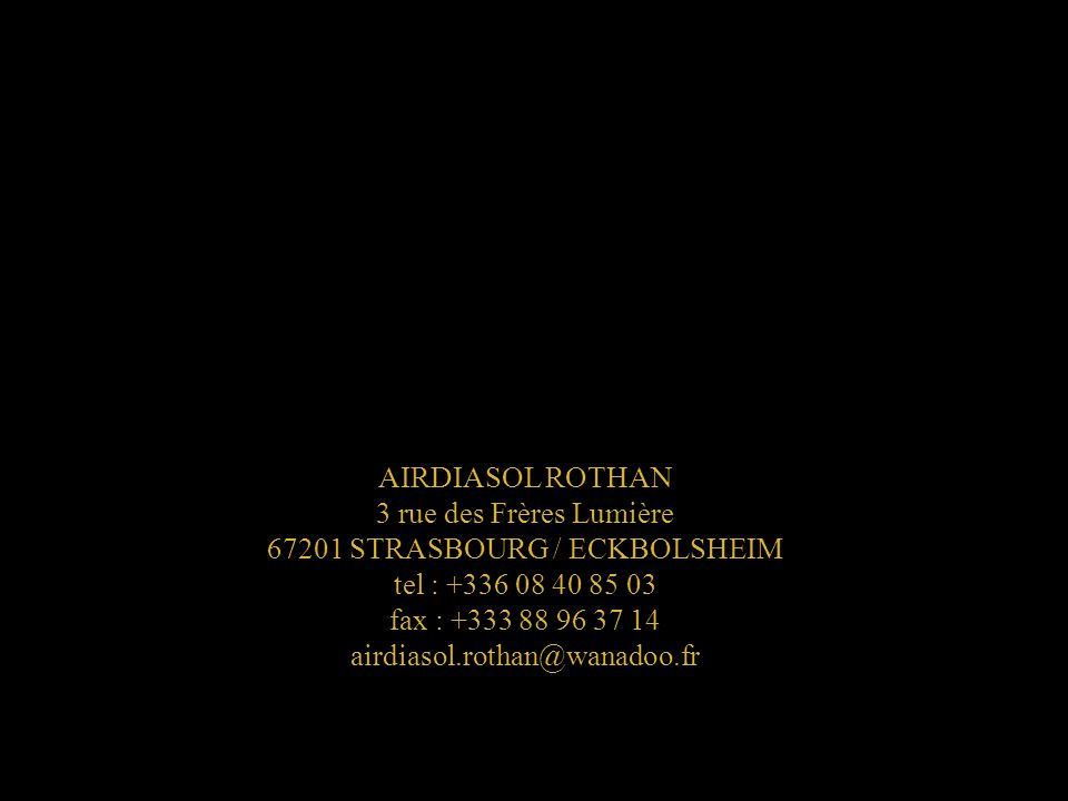 3 rue des Frères Lumière 67201 STRASBOURG / ECKBOLSHEIM