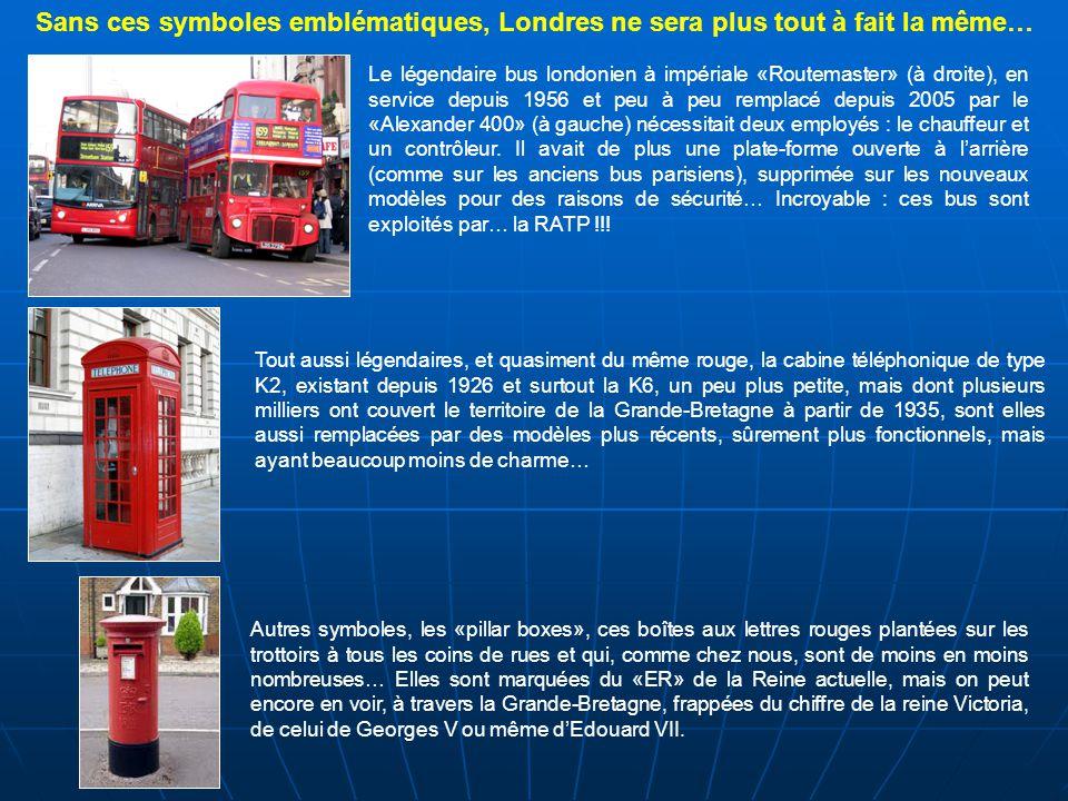 Sans ces symboles emblématiques, Londres ne sera plus tout à fait la même…