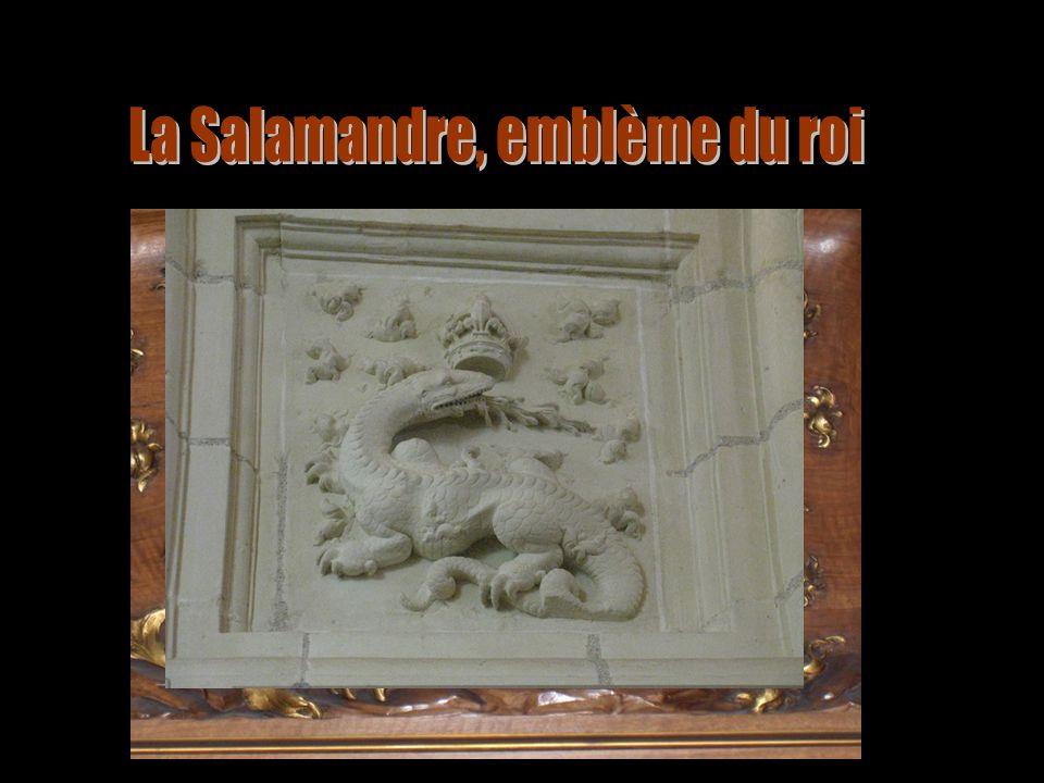 La Salamandre, emblème du roi