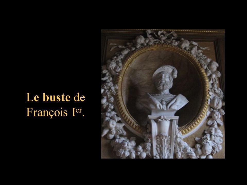 Le buste de François Ier.