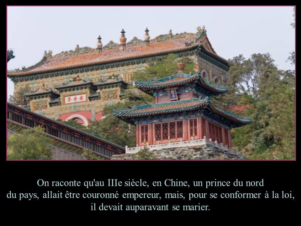 On raconte qu au IIIe siècle, en Chine, un prince du nord