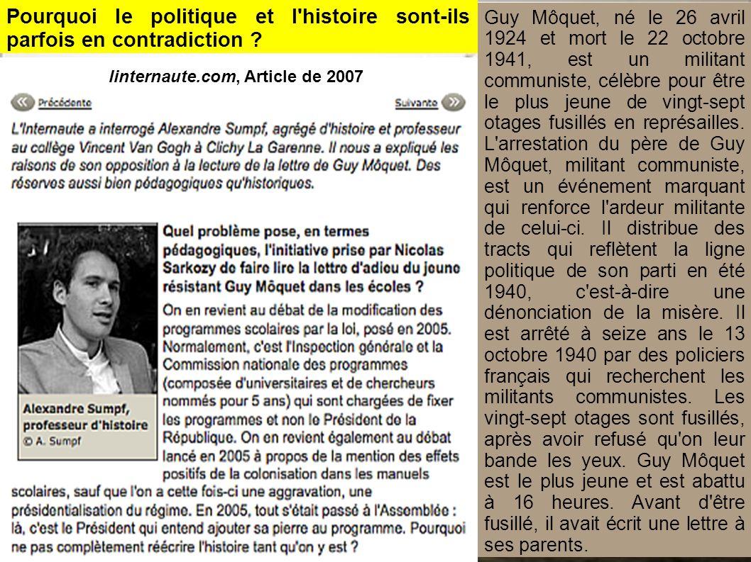 linternaute.com, Article de 2007