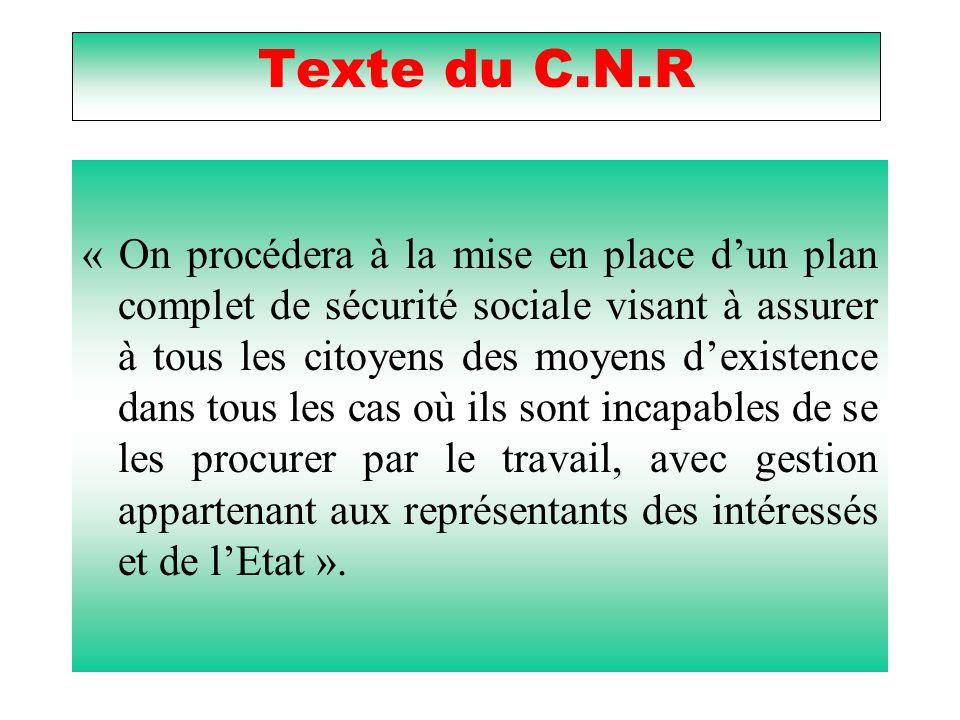 Texte du C.N.R