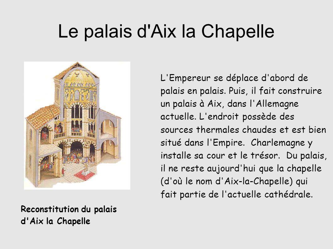 Le palais d Aix la Chapelle