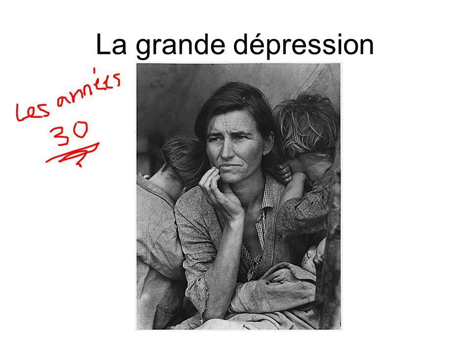 La grande dépression