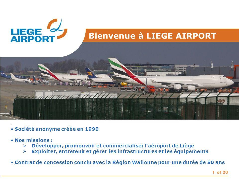 Bienvenue à LIEGE AIRPORT