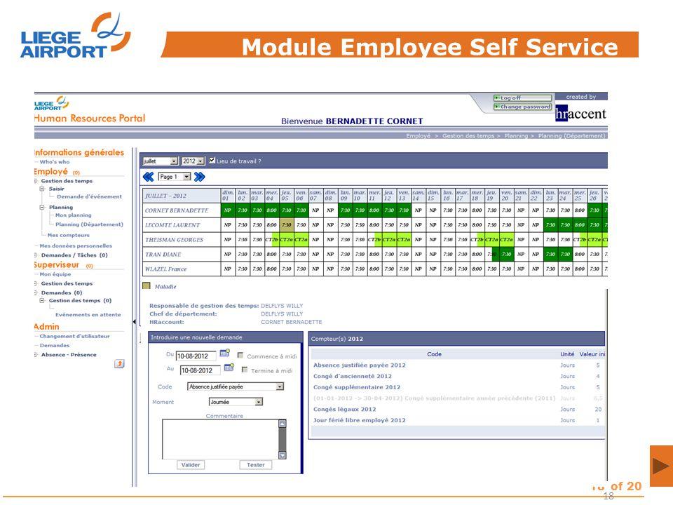 Module Employee Self Service