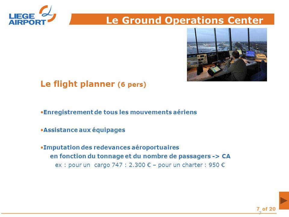 Le Ground Operations Center