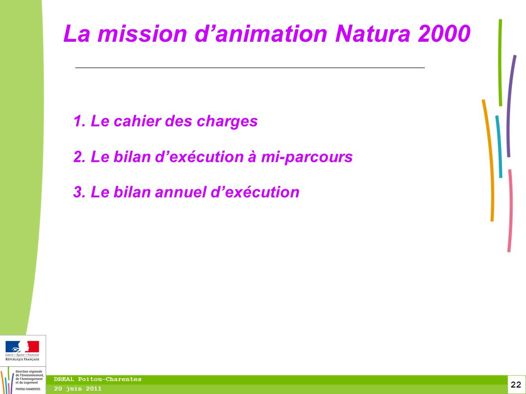 La mission d'animation Natura 2000