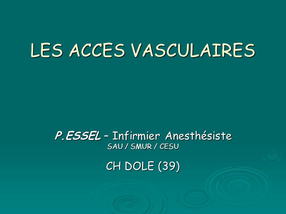 P.ESSEL – Infirmier Anesthésiste SAU / SMUR / CESU CH DOLE (39)