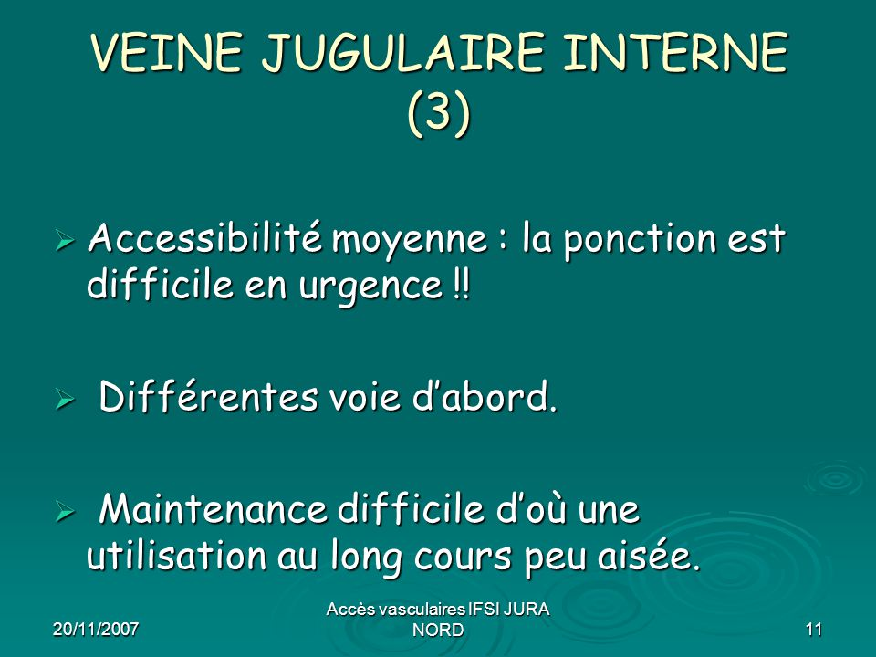 VEINE JUGULAIRE INTERNE (3)