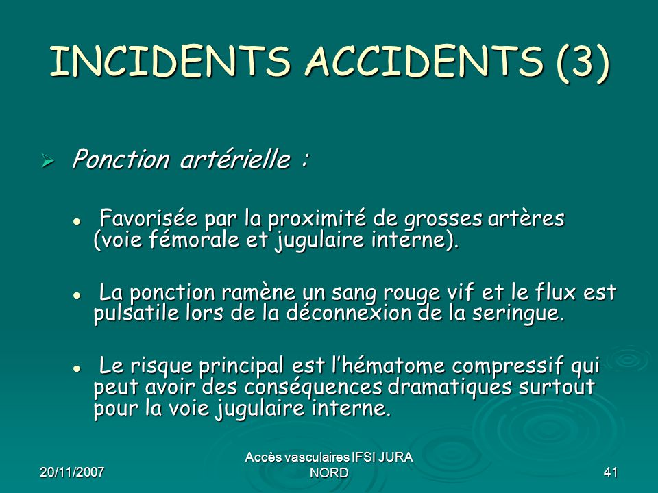 INCIDENTS ACCIDENTS (3)