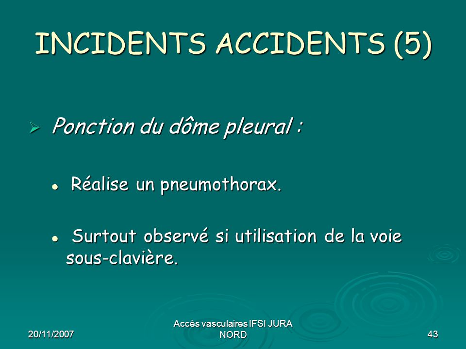 INCIDENTS ACCIDENTS (5)