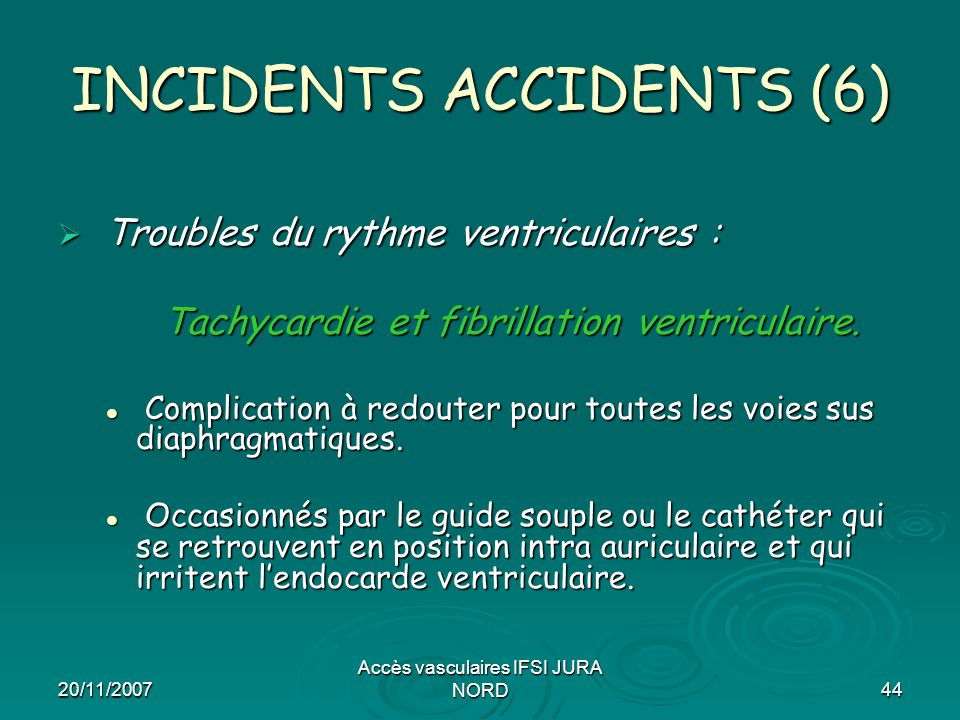 INCIDENTS ACCIDENTS (6)