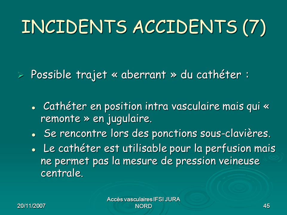 INCIDENTS ACCIDENTS (7)
