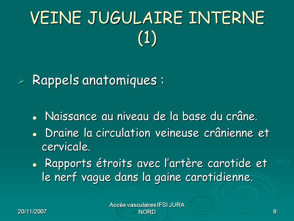 VEINE JUGULAIRE INTERNE (1)