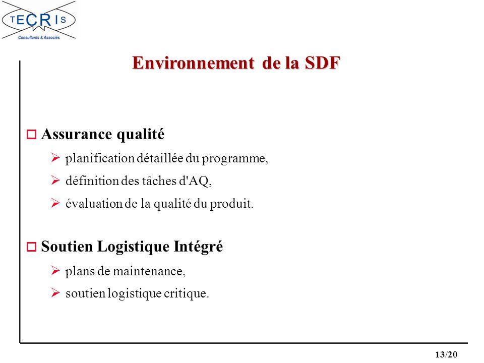 Environnement de la SDF