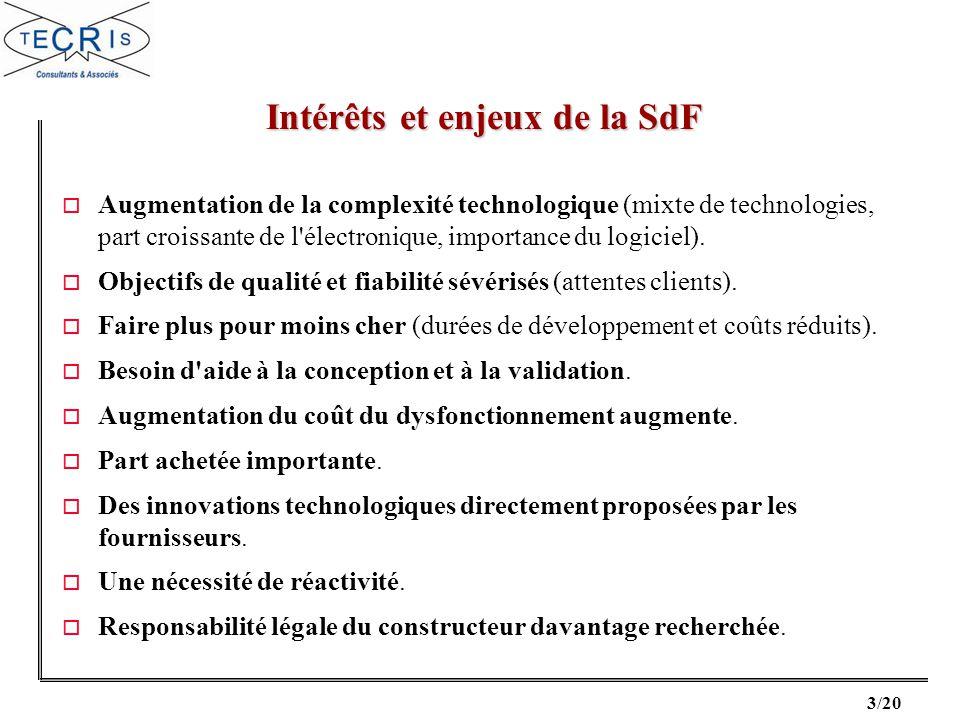 Intérêts et enjeux de la SdF