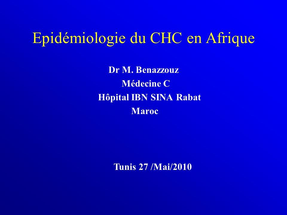Epidémiologie du CHC en Afrique