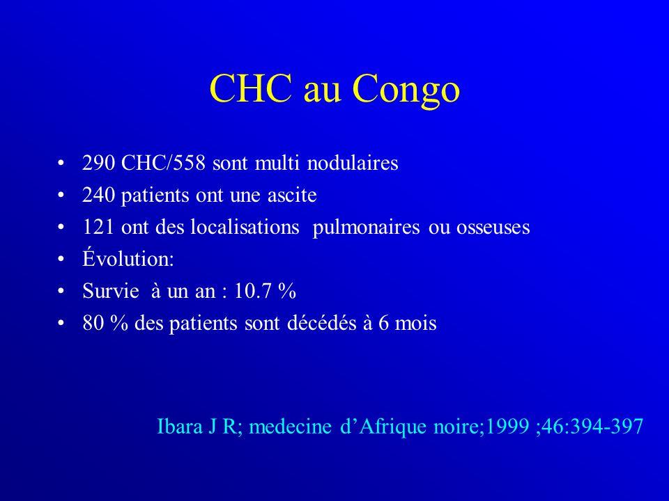 CHC au Congo 290 CHC/558 sont multi nodulaires