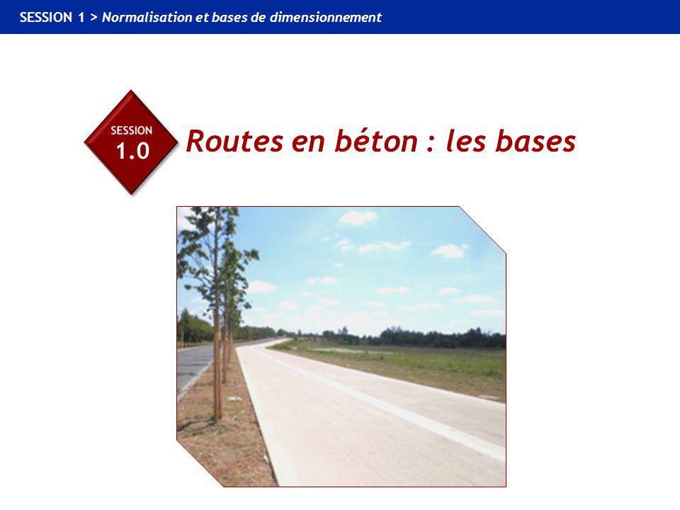 Routes en béton : les bases