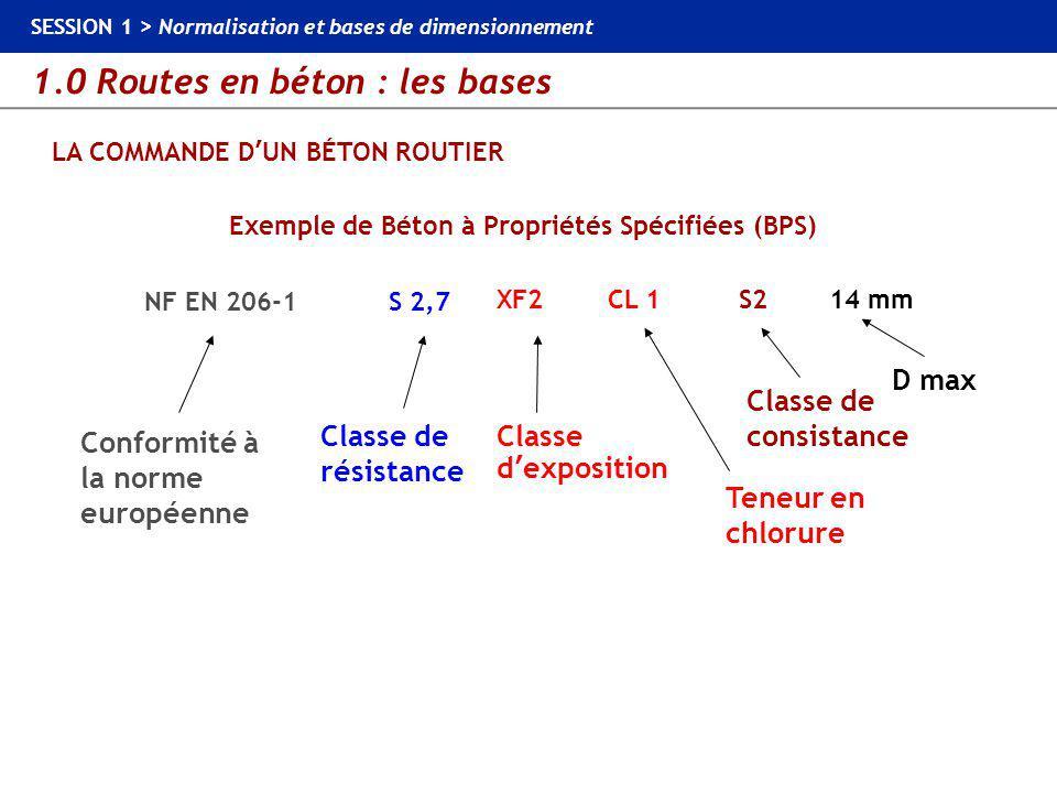 LA COMMANDE D'UN BÉTON ROUTIER