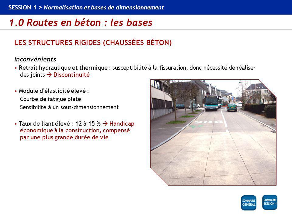 LES STRUCTURES RIGIDES (CHAUSSÉES BÉTON)