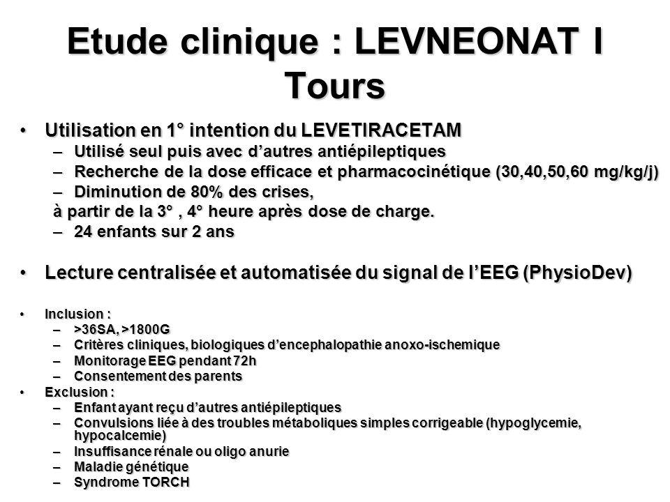 Etude clinique : LEVNEONAT I Tours