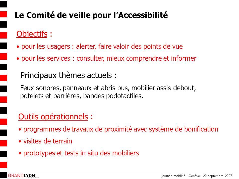 Le Comité de veille pour l'Accessibilité