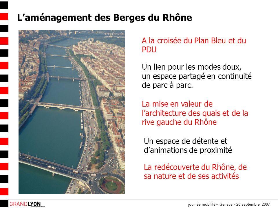 L'aménagement des Berges du Rhône