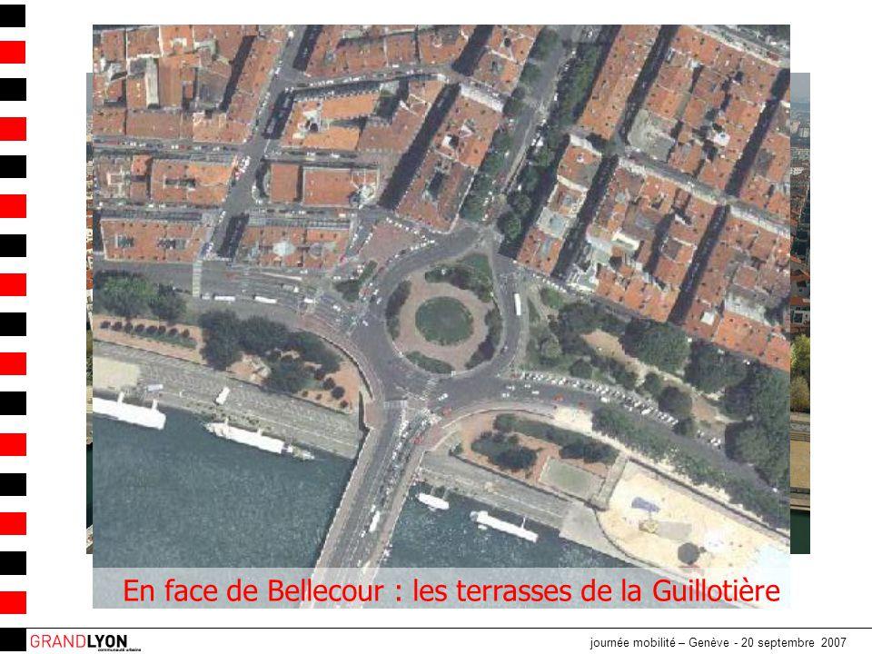 En face de Bellecour : les terrasses de la Guillotière