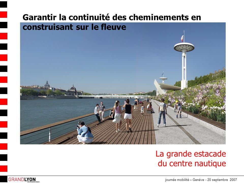Garantir la continuité des cheminements en construisant sur le fleuve