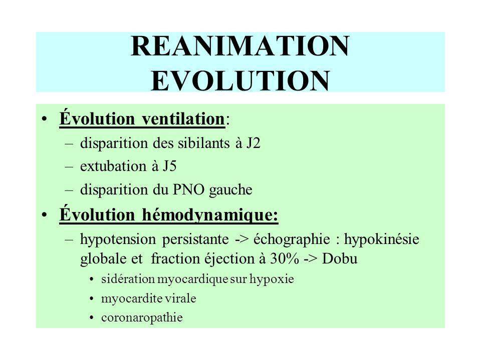 REANIMATION EVOLUTION
