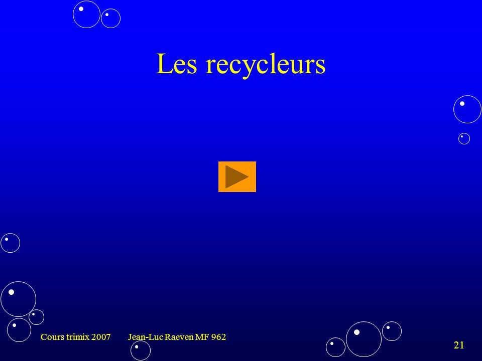 Les recycleurs Cours trimix 2007 Jean-Luc Raeven MF 962