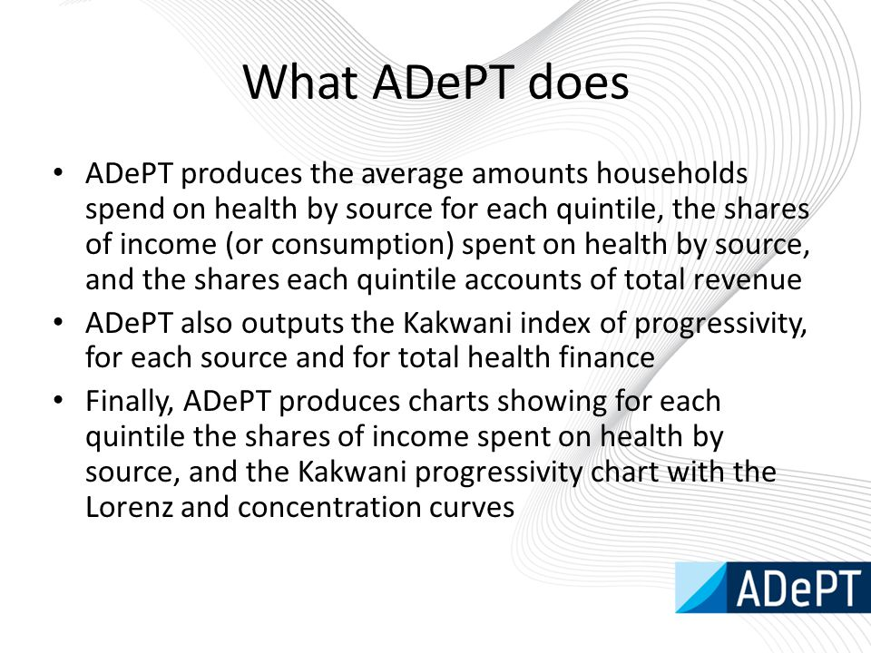 What ADePT does
