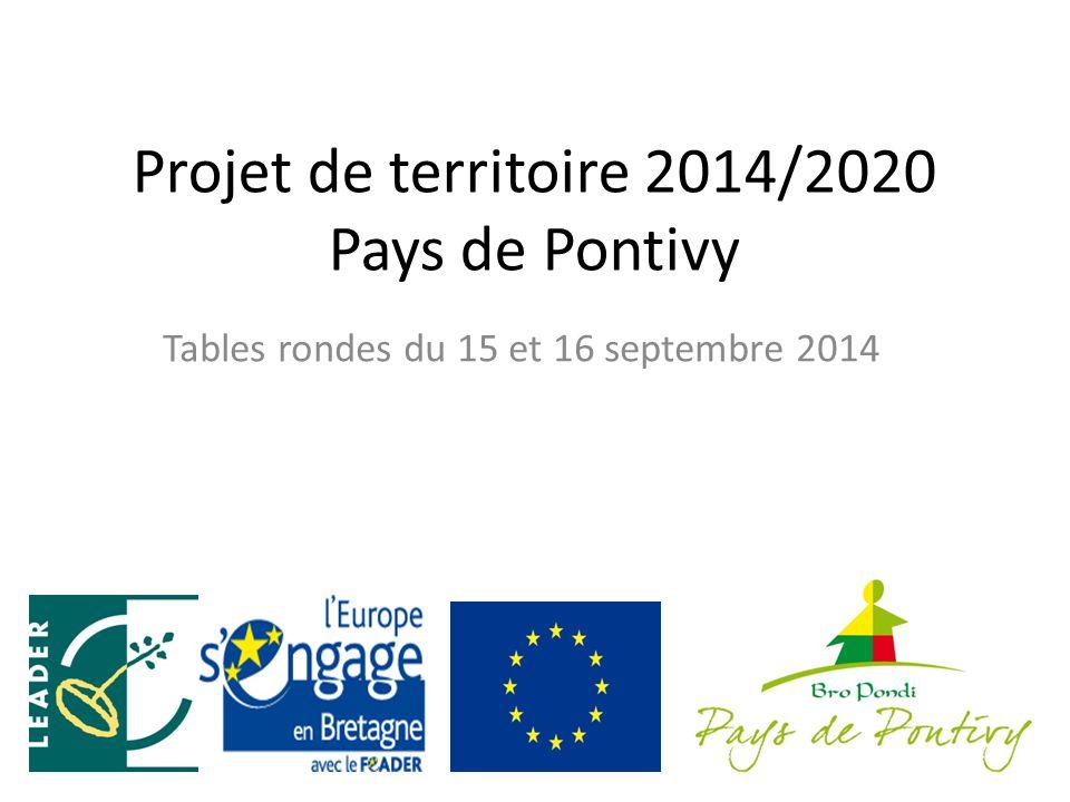 Projet de territoire 2014/2020 Pays de Pontivy