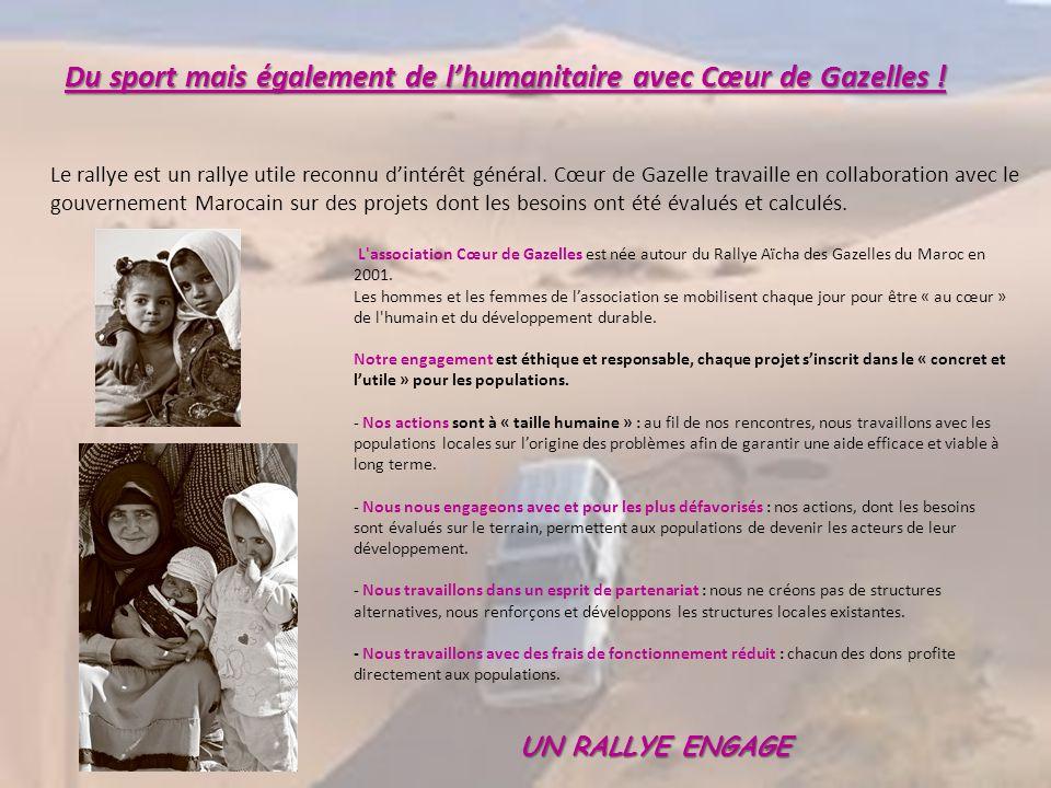 Du sport mais également de l'humanitaire avec Cœur de Gazelles !