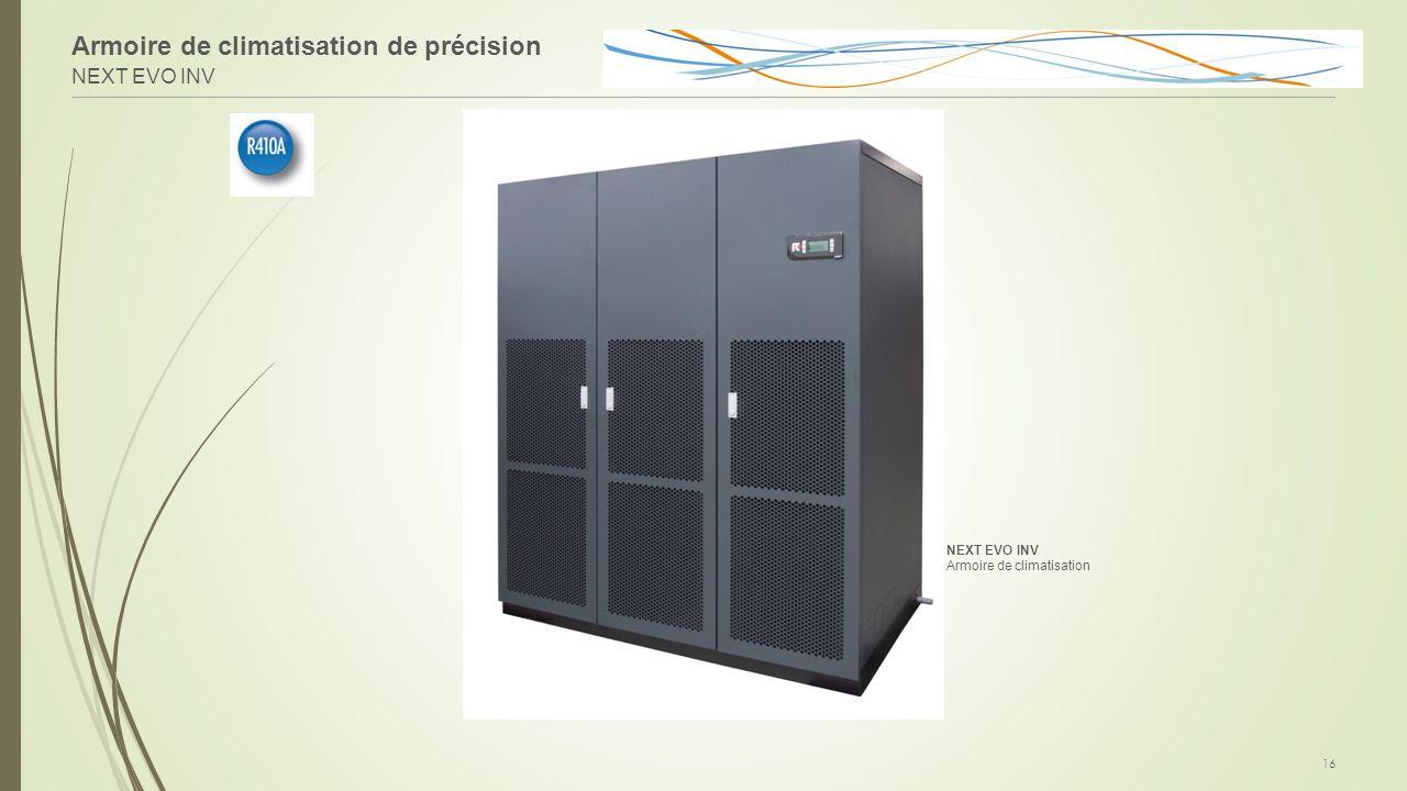Armoire de climatisation de précision