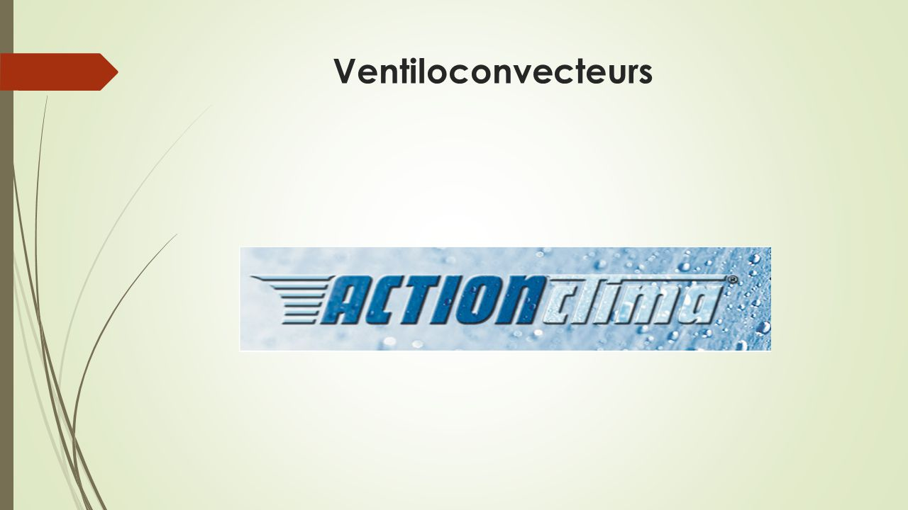 Ventiloconvecteurs