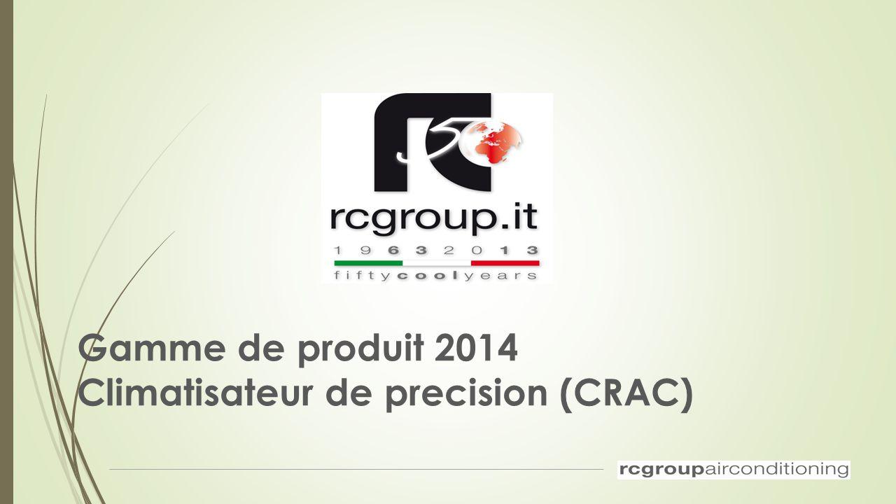 Gamme de produit 2014 Climatisateur de precision (CRAC)