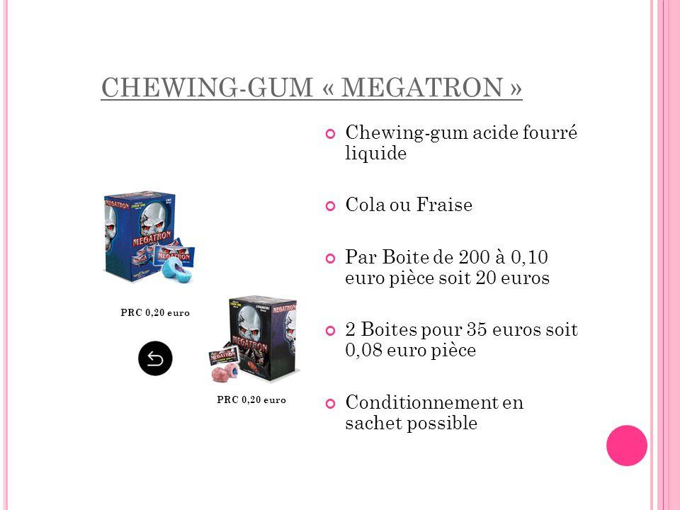 CHEWING-GUM « MEGATRON »