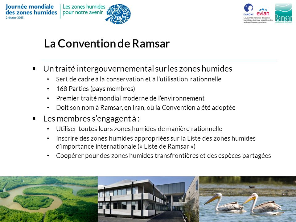 La Convention de Ramsar